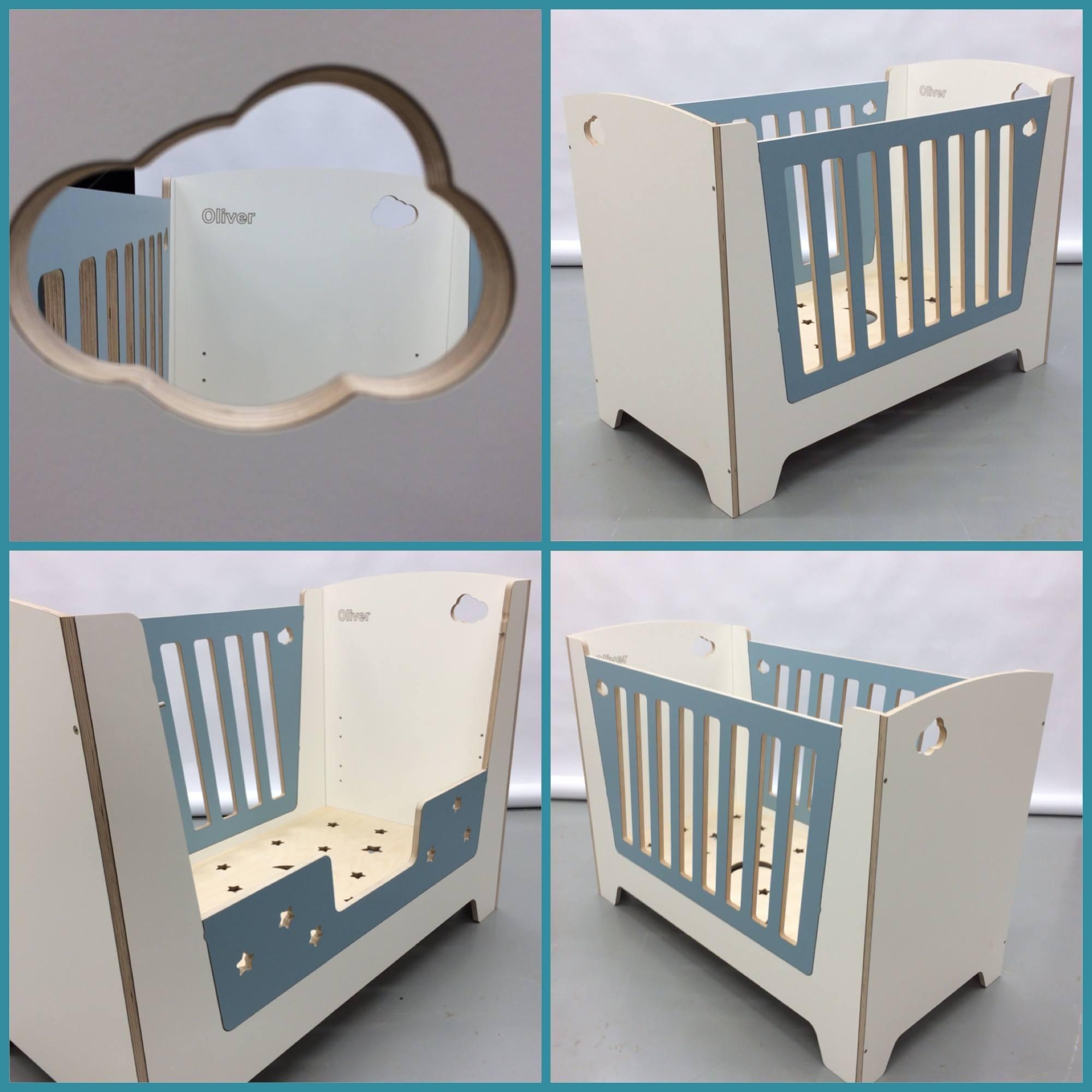 Min anbefaling til babyseng, en seng babyen kan vokse i mange år! - Caroline Wergeland