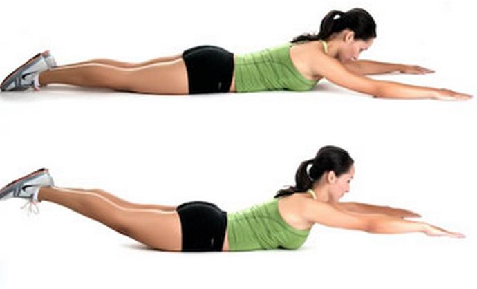 nakende jenter hvordan trene nedre del av mage